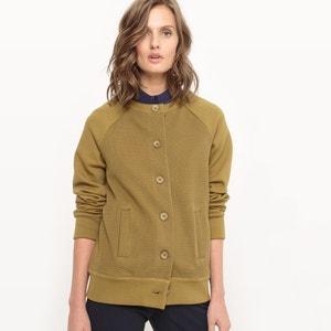 Buttoned Fleece Cardigan R essentiel