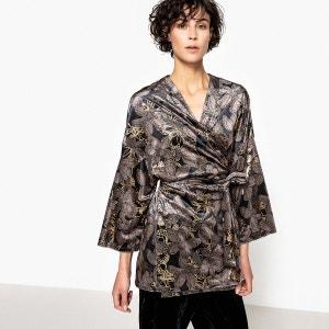 Veste kimono velours La Redoute Collections