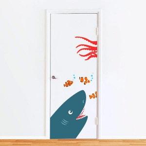 Sticker de Porte : Requin DECOLOOPIO