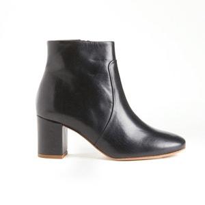 Boots zippée en cuir PETULIA SESSUN