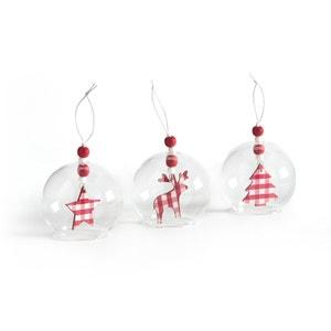 Boules de Noël, DOUNIA (lot de 3) La Redoute Interieurs