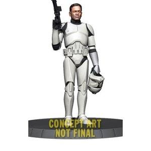 Star Wars - Statuette Deluxe 1/6 White Clone Trooper 32 cm GENTLE GIANT