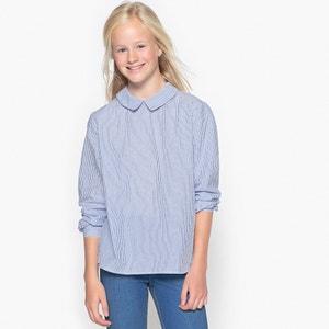 Рубашка на пуговицах сзади 10-16 лет La Redoute Collections