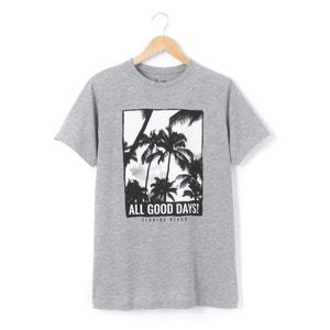 T-shirt 10-16 ans imprimé palmiers R pop