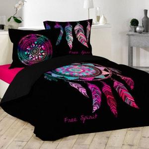 housse de couette avec rabat au pied la redoute. Black Bedroom Furniture Sets. Home Design Ideas