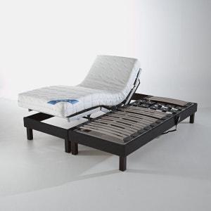 Sommier de relaxation tapissier électrique recouvert tissu déco REVERIE