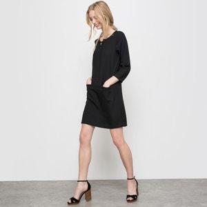 Mini Dress with 3/4-Length Sleeves R essentiel