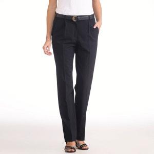 Pantalon à pinces bi-extensible, entrej. 78 cm ANNE WEYBURN
