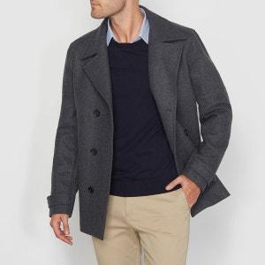Caban en drap de laine R essentiel