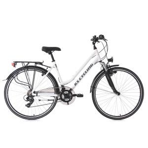 VTC femme 28'' Metropolis blanc guidon plat TC 48 cm KS Cycling KS