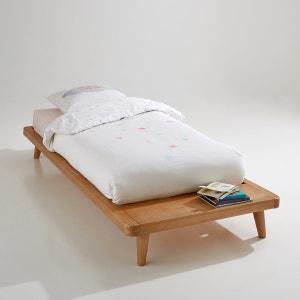 Cama plataforma + somier + estante Jimi