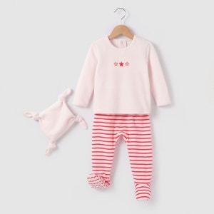 Pyjama 2 pièces + doudou  0mois-3 ans La Redoute Collections