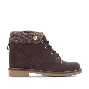 Boots col à chevrons 26-39 La Redoute Collections