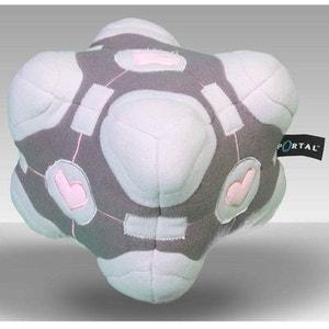 Portal 2 peluche Companion Cube GAME