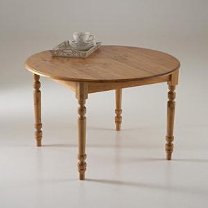 Mesa redonda de pino mecizo Authentic Style La Redoute Interieurs