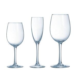 Service de verres transparent verre 18 pièces La cave LUMINARC