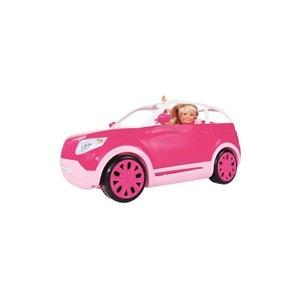 Simba Toys 105732874 Steffi Love - Steffi avec sa nouvelle voiture tout-terrain. SIMBA TOYS