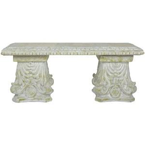 Banc en béton décoration classique ESSCHERT DESIGN