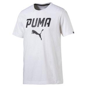 T-Shirt, Jersey, bedruckt, runder Ausschnitt PUMA