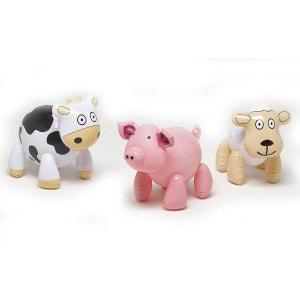 Ensemble 3 animaux de la ferme gonflables FALK / FALQUET