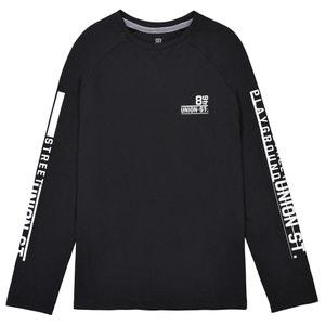 Raglan Sleeve T-Shirt, 10-16 Years La Redoute Collections