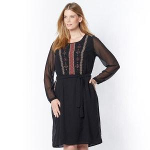 Vestido bordado TAILLISSIME
