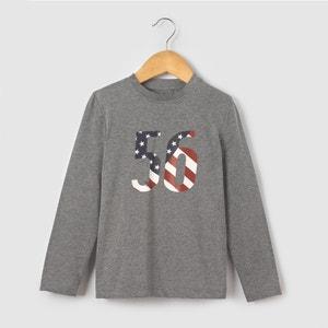 Camisola de mangas compridas ''bandeira'' 3-12 anos R édition