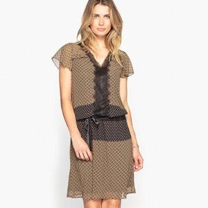 Bedrukte jurk ANNE WEYBURN