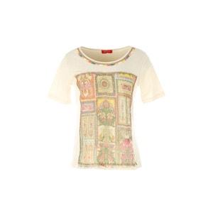 T-shirt de mangas curtas, estampada RENE DERHY