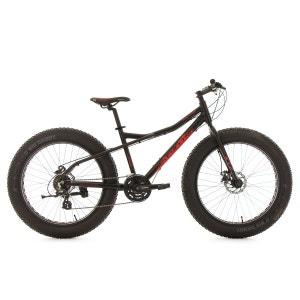 VTT Fatbike 26'' semi rigide SNW2458 noir TC 46 cm KS Cycling KS