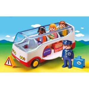 Autocar de voyage 1.2.3 PLAYMOBIL multicolore PLAYMOBIL
