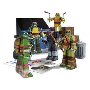 Les Tortues ninja - Set Papercraft Team Ninja Turtles Pack JAZWARES