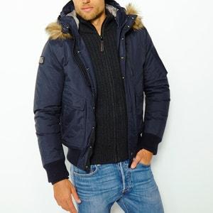 Giubbotto TORNADO, cappuccio con pelliccia sintetica staccabile SCHOTT