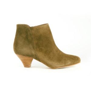 Boots croûte de cuir SESSUN