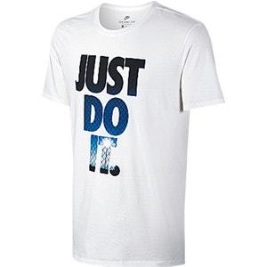 Camiseta con motivo estampado y cuello redondo NIKE