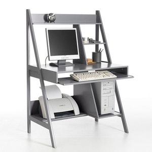 Meuble de bureau la redoute for Bureau informatique petit espace