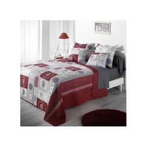 couvre lit boutis rouge la redoute. Black Bedroom Furniture Sets. Home Design Ideas