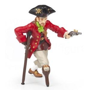 Figurine Pirate jambe de bois au pistolet PAPO
