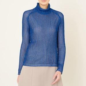 Glänzender, gerippter Pullover CARVEN