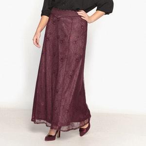 Długa prosta spódnica z koronki CASTALUNA