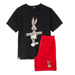 Piżama z krótkimi spodenkami, ze wzorem Bugs Bunny BUGS BUNNY