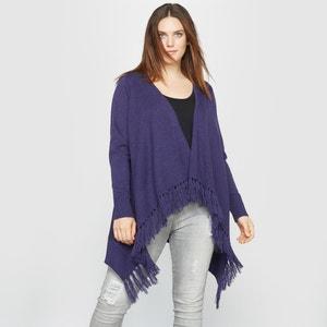 Luźny sweter z frędzlami CASTALUNA