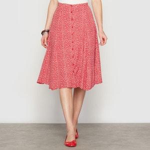 Printed Midi Skirt ANNE WEYBURN