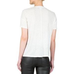 T-shirt met juweelhals en korte mouwen THE KOOPLES