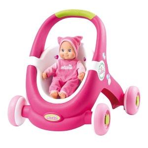 Poussette pour poupée Minikiss Baby Walker SMOBY
