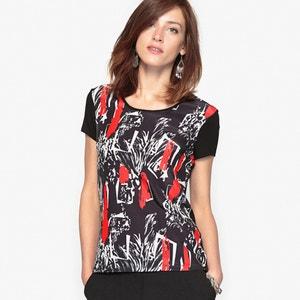 Bedrukt T-shirt, soepel tricot ANNE WEYBURN