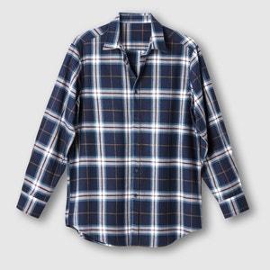 Camisa aos quadrados em flanela CASTALUNA FOR MEN