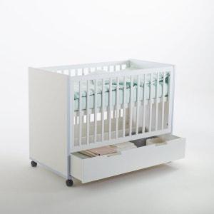 Lit bébé avec tiroir et roulettes, Lisalou La Redoute Interieurs