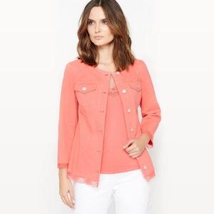 Lace Trim Jacket ANNE WEYBURN