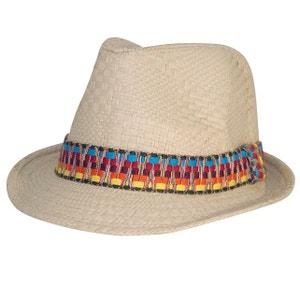Trilby homme azteque beige CHAPEAU-TENDANCE